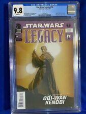 STAR WARS LEGACY #16 CGC 9.8 NM/MT Origin DARTH KRAYT Obi Wan A'sharad Hett