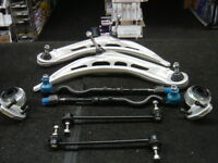BMW  3 SER E46  FRONT SUSPENSION STEERING ENDS WISHBONE ARMS KIT COMPLETE