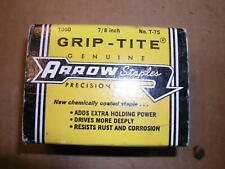 "Arrow T-75, 7/8"" Staples 1000 Staples Usa Made"