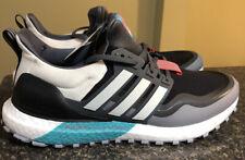 Adidas Ultra Boost All Terrain Running Core Black White Teal Aqua EG8099 Sz 9