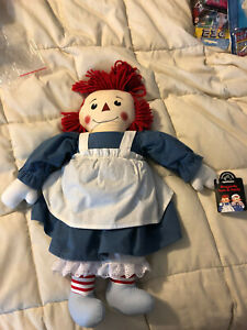 VINTAGE NEW APPLAUSE STORYBOOK LIMITED EDITION RAGGEDY ANN PLUSH DOLL TOY