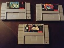 Metal Warriors, Super Metroid and other Super Nintendo SNES 100% Authentic