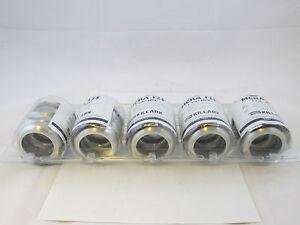 LOT OF 5 KILLARK  ARMORED CABLE CONNECTORS APPLETON CMP MCRA125 TMC125 TMC125A