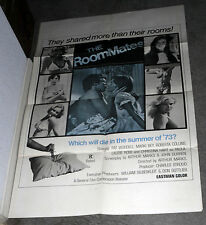 THE ROOMMATES orig 1973 SEXPLOITATION poster PAT WOODELL/ROBERTA COLLINS 1sheet