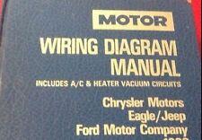 1994 MOTOR MANUAL WIRING DIAGRAM; A/C HEATING, MOPAR, FORD MOTOR COMPANY