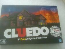 Cluedo El Gran Juego De Detectives. Juego de mesa, Hasbro. Como Nuevo