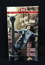 SIngin In The Rain VHS Gene Kelly, Debbie Reynolds Musical Color