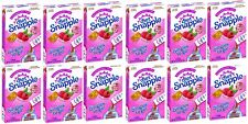 12 Pack Diet SNAPPLE Raspberry Soft Drink Mix 6 Stick In Each Box single to go