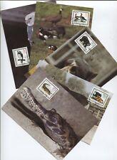 DDR 2952-2956 amtliche Maximumkarten 5-9/85 Bedrohte Tiere top (B07875)