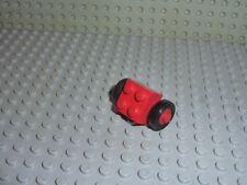 4 x Essieux roues LEGO VINTAGE wheel ref 3137c01 /& tyres 3641