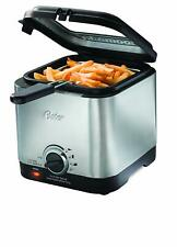 New Deep Fryer Stainless Steel Compact Small Mini Electric Home Kitchen Food