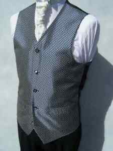 """waistcoat BLUE DIAMOND CHEST SIZE 46""""  FROM ONLY £2"""