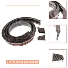 Universal 4.9FT Carbon Fiber Car Spoiler Rear Roof Lip Sport Wing Trunk Molding