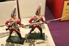 W Britain Redcoats & Bluecoats 2 x 43142 British Grenadier 45th Regiment