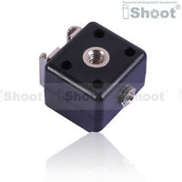 iShoot Double-Hot Shoe Mount Adapter Flash Trigger with 3.5mm PC SYNC Socket