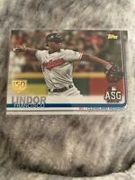 2019 Topps Update #US293 Francisco Lindor - Cleveland 150 Years Gold