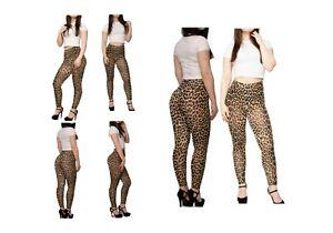 Ebay SUCCI SILVO  Womens Printed Stretchy Skinny Full Length Trouser Leggings