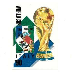 VINTAGE CLASSICS - Sierra Leone 1044 - Pre Football - Souvenir Sheet -MNH
