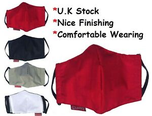 FABRIC FACE MASK / COVER, THIN COMFY STRETCH FABRIC, BREATHABLE & WASHABLE