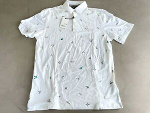 Adidas Adipure Polo Shirt White Medium