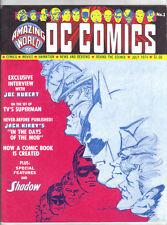 AMAZING WORLD OF DC COMICS #1 (NM-) Kubert! Kirby! 1974 Mail Order Pro-Zine