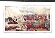 Charge des 8e & 9e Cuirassiers à Reichshoffen Alsace Guerre de 1870 XIXe siècle