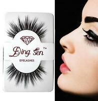 100% Real Mink Long Natural Thick Makeup Eye Lashes Women's False Eyelashes Gift