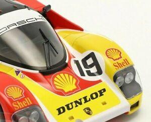 NOREV 1:18  Porsche 962C #19 6th 24h LeMans 1988 Porsche- Andretti Family 1/1000