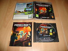 MINECRAFT PLAY STATION 3 EDITION PARA LA SONY PS3 USADO COMPLETO