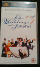 Four Weddings and a Funeral video cassette tape VHS