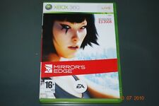 Mirror's Edge XBOX 360 UK PAL Mirrors PLAYABLE ON XBOX ONE