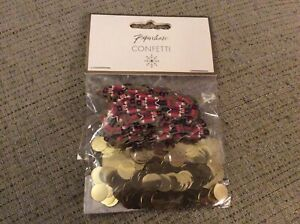 BNIP New Pack of Paperchase Nutcracker & Gold Dot Table Confetti - Christmas