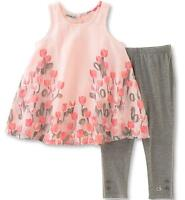 Calvin Klein Toddler/Little Girls' 2pc Tunic & Legging Set 2T 3T 4T 4 5 6 6X