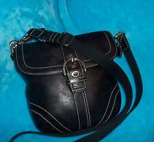 COACH Black leather Cross Body Bag - MEDIUM