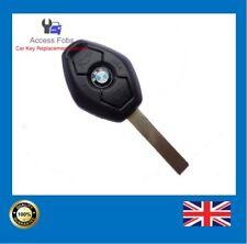 BMW EWS Systems 3 button Remote Key Fob 3,5,Series X3 X5 Z4 (BM3)