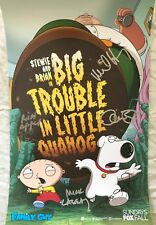 Family Guy signed auto autographed 2018 SDCC poster Alex Borstein Mike Henry +3