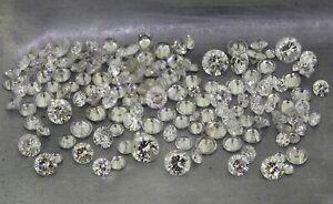 mixed round brilliant cut diamonds 7.75ct natural loose diamonds
