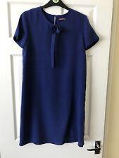 Comptoir Des Cotonniers soie Bleu royal Robe tunique très bon état Sz 6
