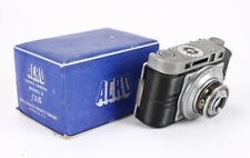 ACRO MODEL R, 2-INCH/4.5 ACRO (HAZE), BOXED, FROZEN FOCUS, AS-IS/204049