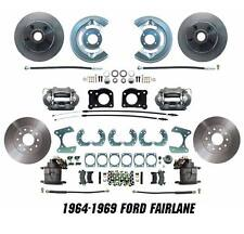 1964-1969 Ford Fairlane Disc Brake Conversion Kit Front & Rear Package