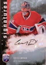 07-08 bap player signatures rookie carey price montreal canadiens autograph auto