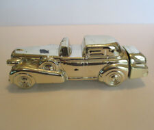Vintage 1969 Avon Solid Gold Cadillac Car Wild Country Aftershave Decanter