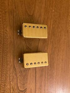 Gibson 490R And 498T Gold Pickup Set 13k Bridge, 7.7k Neck