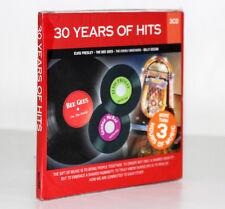 30 YEARS OF HITS [ELVIS PRESLEY, THE BEE GEES, BILLY OCEAN] [3 CD] 5399890318421