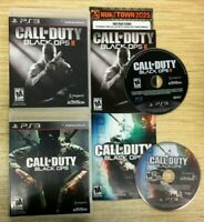 Call of Duty: Black Ops I + II COD PlayStation 3 PS3 COMPLETE WORKS PERFECT