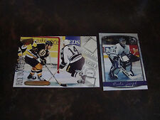 Hockey---Jumbos---Box Toppers---Lot Of 2---Curtis Joseph---Ray Bourque--See List