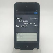 Apple iPod Touch 4th Generation 32GB Black WiFi Fair Condition