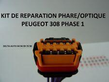 KIT DE REPARATION CONNECTEUR FAISCEAU PHARE / OPTIQUE PEUGEOT 308 PHASE 1 NEUF