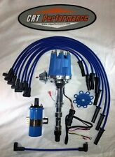 CADILLAC 472 500 PRO SERIES Small Cap Blue HEI Distributor + 45K Coil + Wires