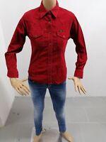 Camicia LEE Donna Taglia Size S Chemise Femme Shirt Woman Camicia Cotone P 7484